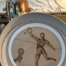 Varios objetos de Arte: PLATO DALI TENIS. Lote 55802566
