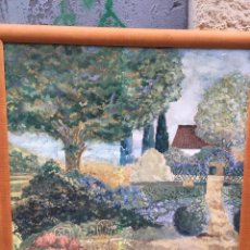 Varios objetos de Arte: DECORATIVO PAISAJE ENMARCADO. Lote 56039610