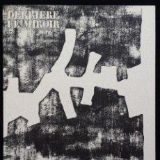 Varios objetos de Arte: EDUARDO CHILLIDA: DLM / DERRIERE LE MIROIR 174 / MAEGHT, 1968, 1ª EDICIÓN / COMPLETO. Lote 56097109