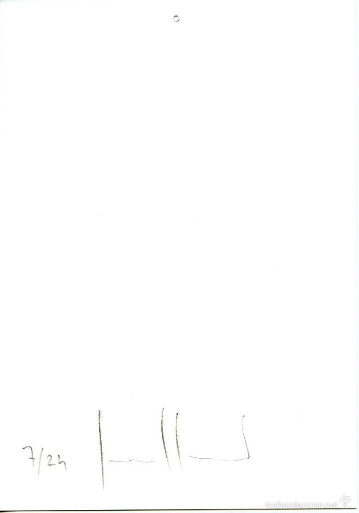 Varios objetos de Arte: Felicitación navidad del artista y fotógrafo Jordi Guillumet. Firmada, tiraje limitado a 24 ejempl. - Foto 2 - 56171704