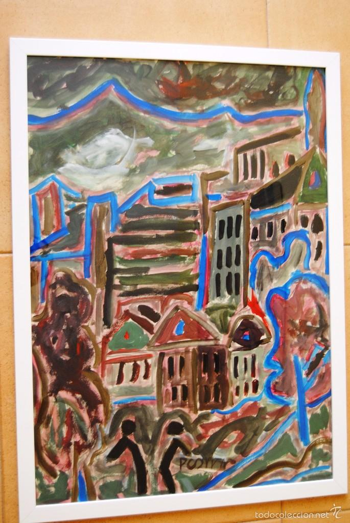 Miklos Nemeth 1934 2012 Pintura Al Temple Sold Through