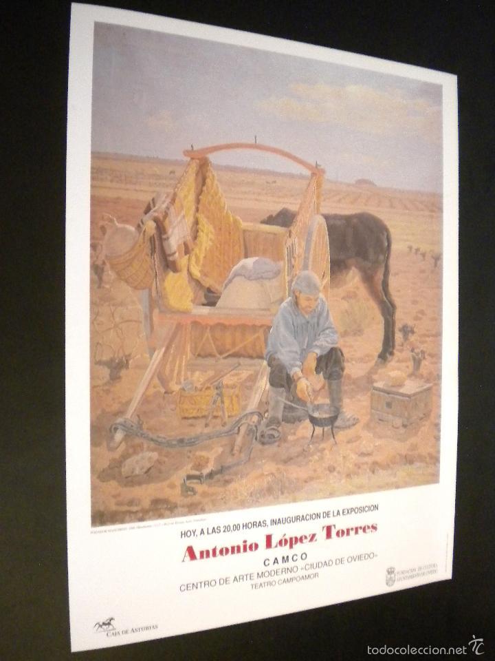 ANTONIO LOPEZ TORRES / CARTEL EXPOSICION (Arte - Varios Objetos de Arte)