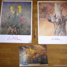 Varios objetos de Arte: 3 LAMINAS DE CARLOS SIERRA. Lote 56396514