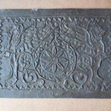 Varios objetos de Arte: PLACA. METAL. RELIEVE. ANTIGUA. ORIGINAL¡¡¡. Lote 56509333