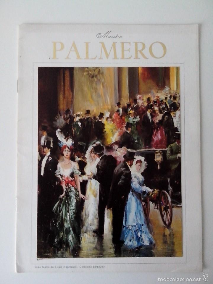 FOLLETO MAESTRO PALMERO EXPOSICION MAYO 1976 (Arte - Varios Objetos de Arte)