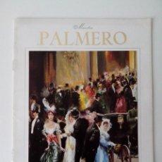 Varios objetos de Arte: FOLLETO MAESTRO PALMERO EXPOSICION MAYO 1976. Lote 56512437