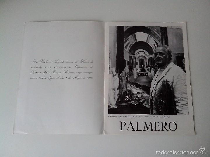 Varios objetos de Arte: FOLLETO MAESTRO PALMERO EXPOSICION MAYO 1976 - Foto 2 - 56512437