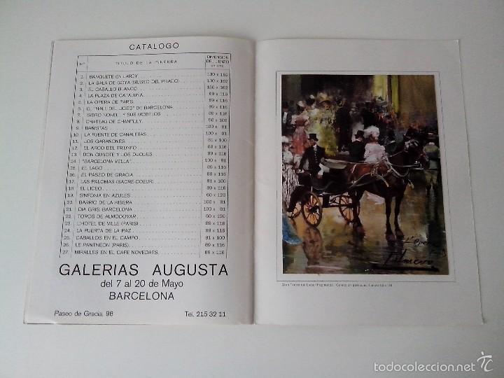 Varios objetos de Arte: FOLLETO MAESTRO PALMERO EXPOSICION MAYO 1976 - Foto 7 - 56512437