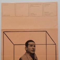Varios objetos de Arte: SIEGFRIED NEUENHAUSEN: CARTEL 1968 / GALERÍA HERTA KLANG / MUY RARO. Lote 56599131