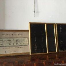 Varios objetos de Arte: RARAS RADIOGRAFÍAS ORIGINALES DE LA SANTA SINDONE, MEDIADOS DEL S.XX . Lote 56904034
