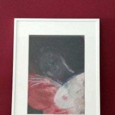Varios objetos de Arte: PASTEL ORIGINAL DE CATHERINE SEMOULIN - 41´5 X 31´5 CM - ENMARCADO. Lote 57042883