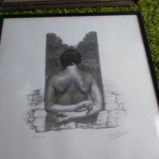 Varios objetos de Arte: CUADRO ESPALDA MUJER, NUMERADO 186/350, FIRMADO. Lote 57055011