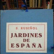 Varios objetos de Arte: JARDINS D'ESPANYA. SANTIAGO RUSIÑOL. 40 REPRODUCCIONS. C. 1910.. Lote 57158693