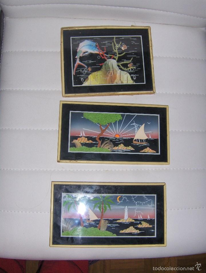 3 cuadros muy bonitos comprar en todocoleccion 57256719 for Comprar cuadros bonitos