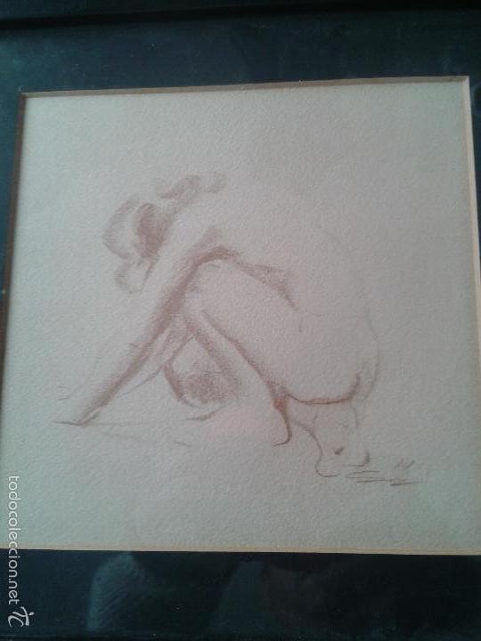 BONITO DIBUJO DESNUDO FEMENINO (Arte - Varios Objetos de Arte)