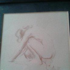 Varios objetos de Arte: BONITO DIBUJO DESNUDO FEMENINO. Lote 57317839