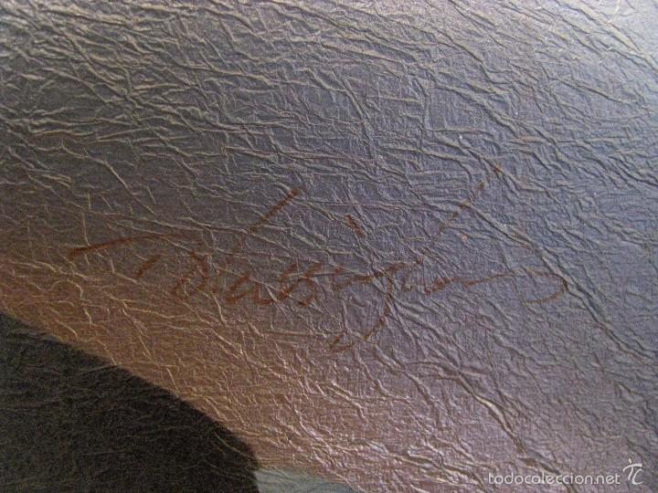 Varios objetos de Arte: UNICORNIO. CUADRO. LIENZO. 60X50 CM. MARCO. ENVIO GRATIS PARA PENINSULA. - Foto 8 - 57373293