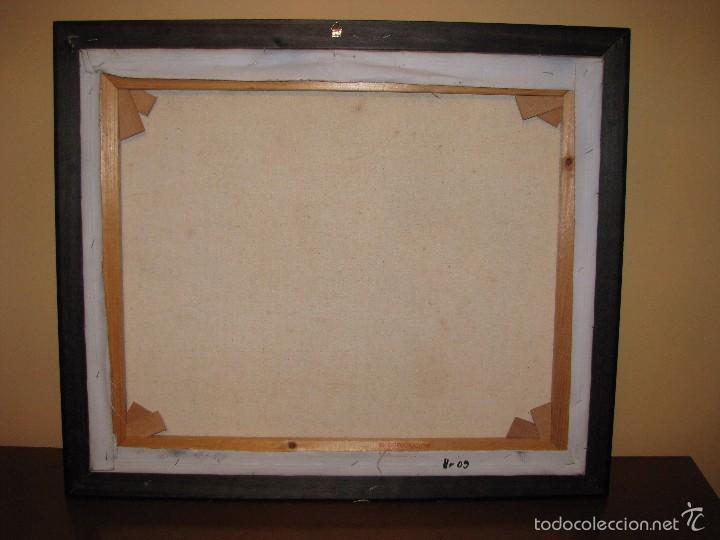 Varios objetos de Arte: UNICORNIO. CUADRO. LIENZO. 60X50 CM. MARCO. ENVIO GRATIS PARA PENINSULA. - Foto 10 - 57373293