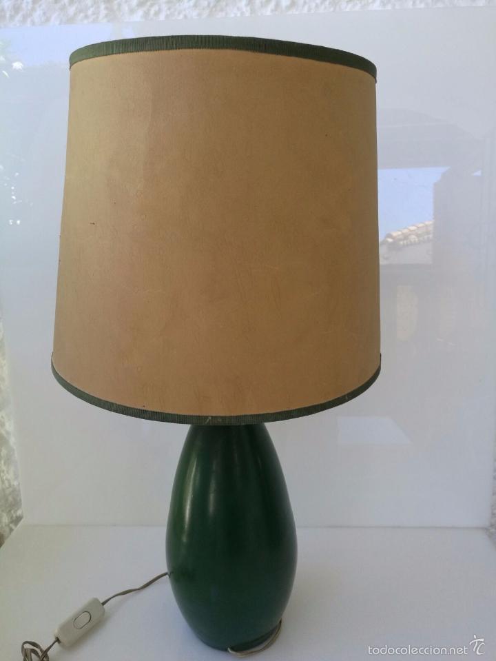 Varios objetos de Arte: UTRILLO OBRA SOBRE LAMPARA Y TULIPA - PRINCIPIOS DEL SIGLO XX - BARRO TERRACOTA - 60 cm - Foto 7 - 57626130