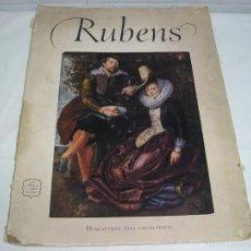 Varios objetos de Arte: LIBRO DE LAMINAS RUBENS 1910 - 16 LAMINAS - MEDIDAS 38X28. Lote 57646351