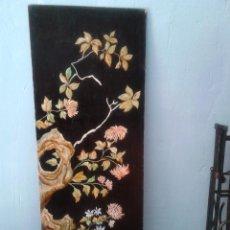 Varios objetos de Arte: PANEL ESTUCADO Y PINTADO.. Lote 57658625