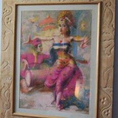 Varios objetos de Arte: PINTURA INDONESIA. Lote 57787963