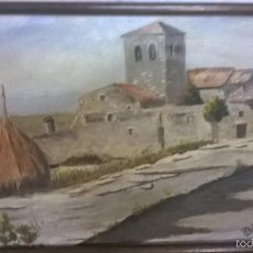 Varios objetos de Arte: PINTURA SOBRE MARQUETERIA. Lote 57864219