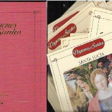 Varios objetos de Arte: CARPETA + 29 LÁMINAS * VIRGENES Y SANTOS *. Lote 57993521