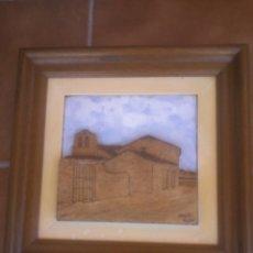 Varios objetos de Arte: CERAMICA PAISAJE RURAL EN RELIEVE LIMITADA SOUSA. Lote 58131277
