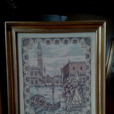 Varios objetos de Arte: TAPIZ DE VENECIA. PLAZA SAN MARCOS.. Lote 58138718