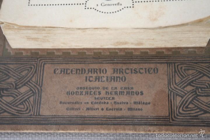 Varios objetos de Arte: CALENDARIO ARTÍSTICO DE PARED EDIT. ALFIERI & LACROIX. AÑO 1917 - Foto 3 - 58607929