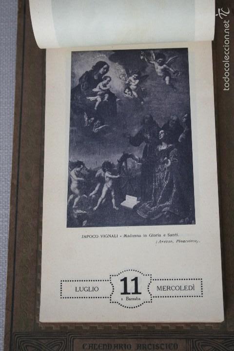 Varios objetos de Arte: CALENDARIO ARTÍSTICO DE PARED EDIT. ALFIERI & LACROIX. AÑO 1917 - Foto 8 - 58607929