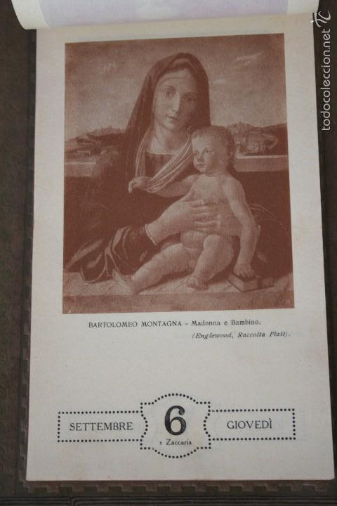 Varios objetos de Arte: CALENDARIO ARTÍSTICO DE PARED EDIT. ALFIERI & LACROIX. AÑO 1917 - Foto 9 - 58607929