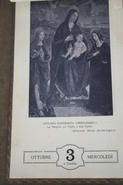 Varios objetos de Arte: CALENDARIO ARTÍSTICO DE PARED EDIT. ALFIERI & LACROIX. AÑO 1917 - Foto 10 - 58607929