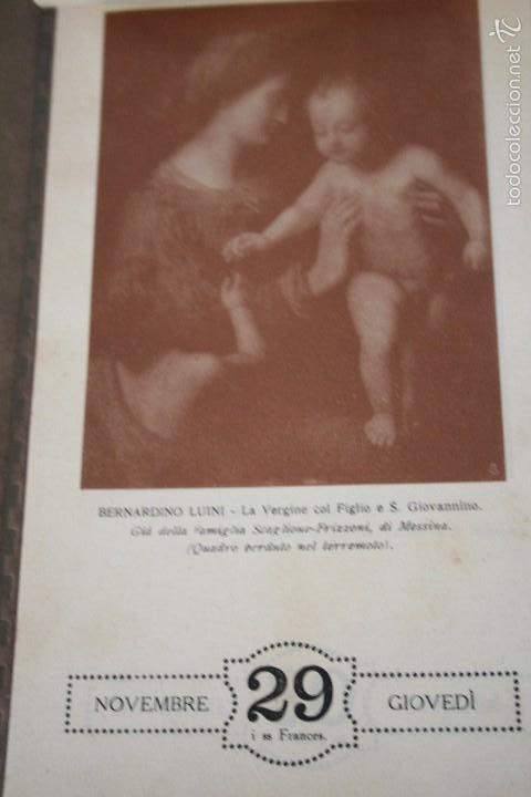 Varios objetos de Arte: CALENDARIO ARTÍSTICO DE PARED EDIT. ALFIERI & LACROIX. AÑO 1917 - Foto 11 - 58607929