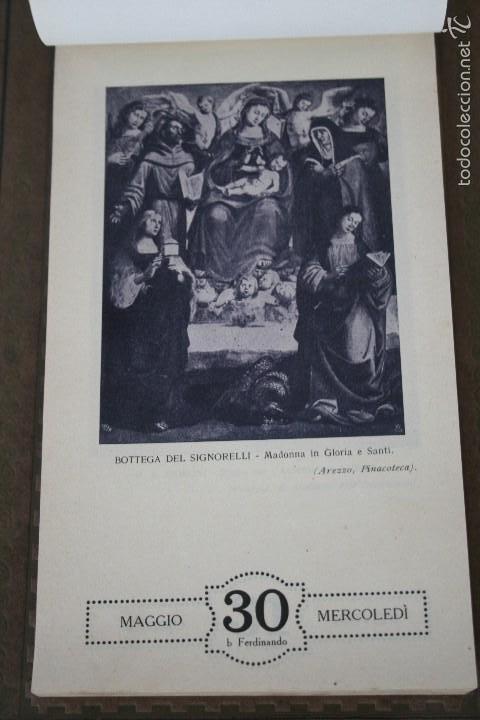 Varios objetos de Arte: CALENDARIO ARTÍSTICO DE PARED EDIT. ALFIERI & LACROIX. AÑO 1917 - Foto 12 - 58607929
