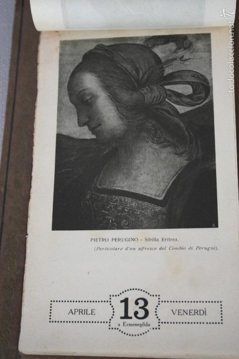 Varios objetos de Arte: CALENDARIO ARTÍSTICO DE PARED EDIT. ALFIERI & LACROIX. AÑO 1917 - Foto 13 - 58607929