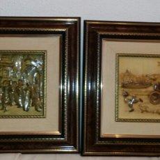 Varios objetos de Arte: DOS CUADROS DE ANTON PIECK.. Lote 58828072