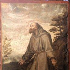 Varios objetos de Arte: ESCUELA TOLEDANA S. XVI. SAN FRANCISCO.. Lote 59692063