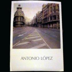 Varios objetos de Arte: CARTEL 92 X 65. 'GRAN VÍA' LÓPEZ GARCÍA, ANTONIO. 1974 - 1981. Lote 60816827
