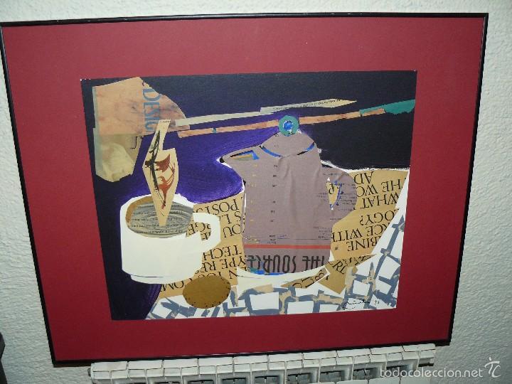 COLLAGE - FIRMA ILEGIBLE - DESAYUNO (Arte - Varios Objetos de Arte)