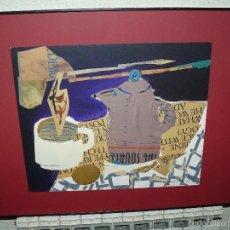 Varios objetos de Arte: COLLAGE - FIRMA ILEGIBLE - DESAYUNO. Lote 61011855