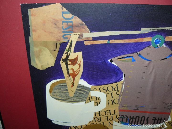 Varios objetos de Arte: COLLAGE - FIRMA ILEGIBLE - DESAYUNO - Foto 2 - 61011855