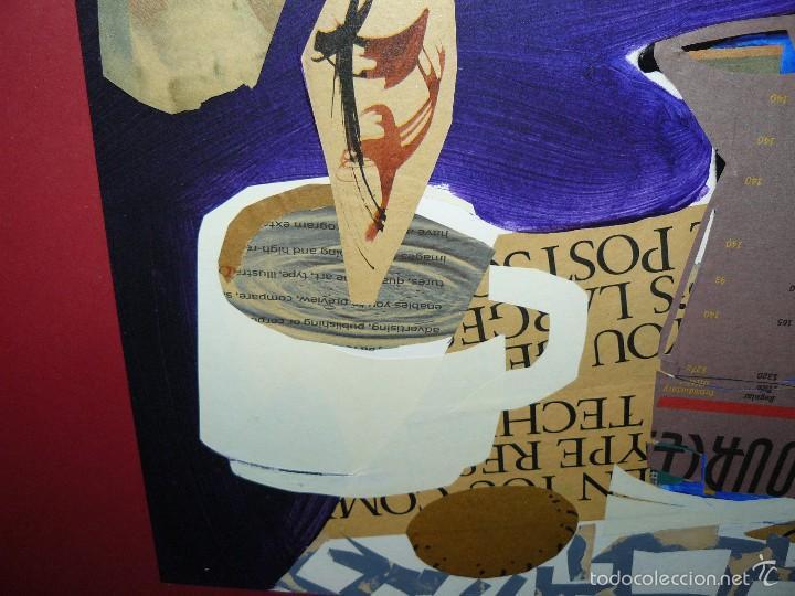 Varios objetos de Arte: COLLAGE - FIRMA ILEGIBLE - DESAYUNO - Foto 4 - 61011855