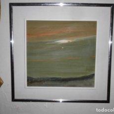 Varios objetos de Arte: PINTURA ANTIGUA CUADRO OLEO VANGUARDISTA ABSTRACTO FIRMA COTO ? Ó GATO ?....75. Lote 61872680