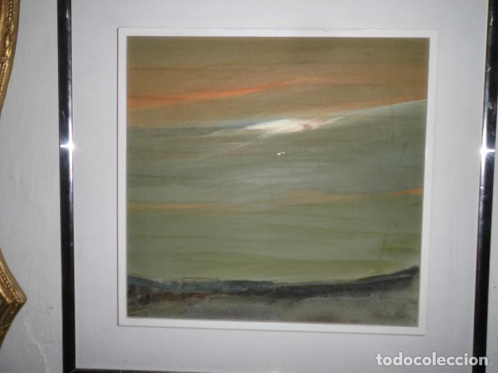 Varios objetos de Arte: PINTURA ANTIGUA CUADRO OLEO VANGUARDISTA ABSTRACTO FIRMA COTO ? ó GATO ?....75 - Foto 2 - 61872680