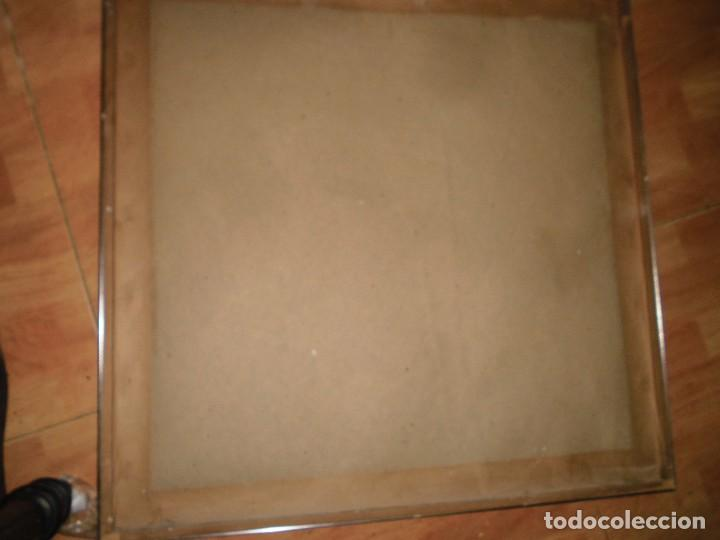 Varios objetos de Arte: PINTURA ANTIGUA CUADRO OLEO VANGUARDISTA ABSTRACTO FIRMA COTO ? ó GATO ?....75 - Foto 4 - 61872680