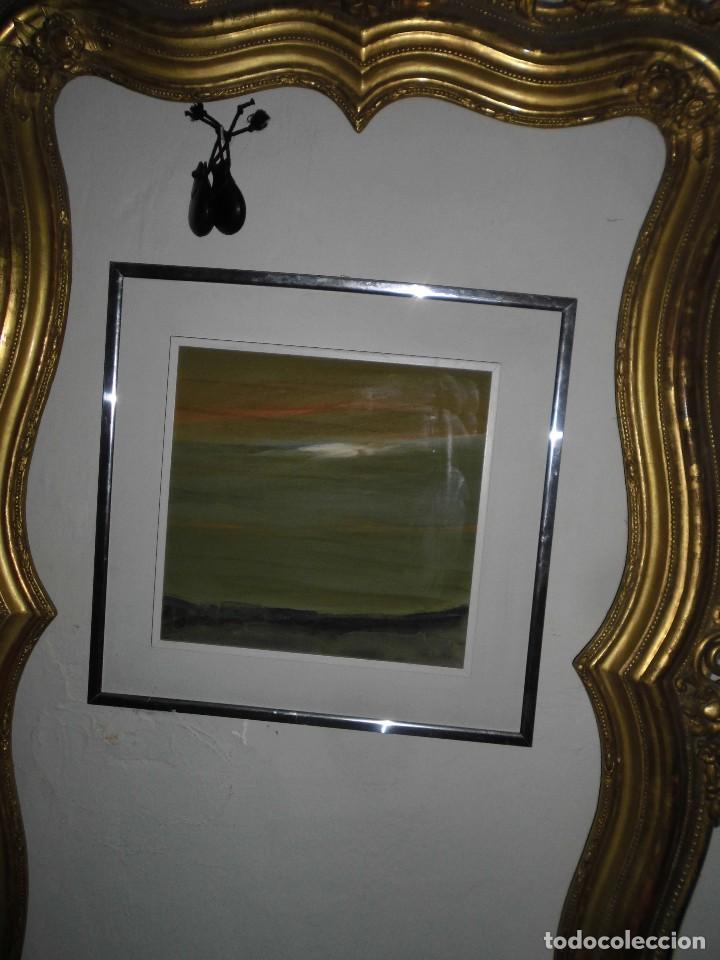 Varios objetos de Arte: PINTURA ANTIGUA CUADRO OLEO VANGUARDISTA ABSTRACTO FIRMA COTO ? ó GATO ?....75 - Foto 5 - 61872680