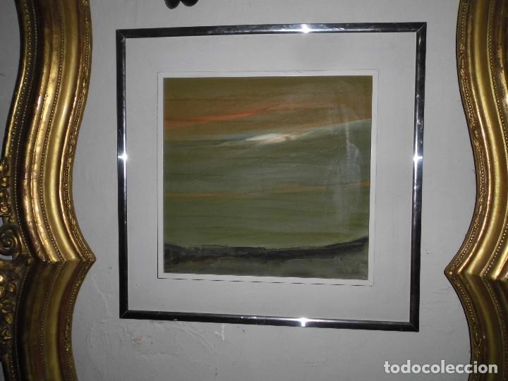 Varios objetos de Arte: PINTURA ANTIGUA CUADRO OLEO VANGUARDISTA ABSTRACTO FIRMA COTO ? ó GATO ?....75 - Foto 6 - 61872680