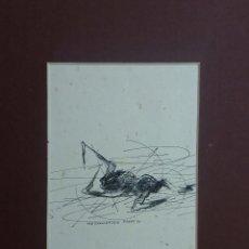 Varios objetos de Arte: LOTE PINTURA - ALFONSO PARRA- 3 OBRAS- VARIAS TÉCNICAS. Lote 62586144